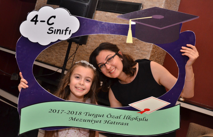 Turgut Özal Primary School 4 / C Graduation - 10.05.2018